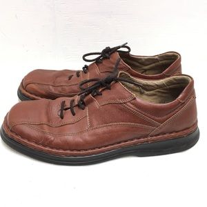Josef Seibel Size 45 (11/11.5) Brown Leather Shoes